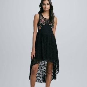 Free People Embroidered Russian Nesting Dress XS